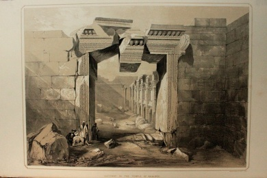 Gateway in the Temple of Baalbec